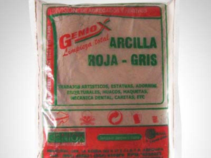 Arcilla Roja Gris GENIOX  - GENIOX PERÚ  | CONSTRUEX