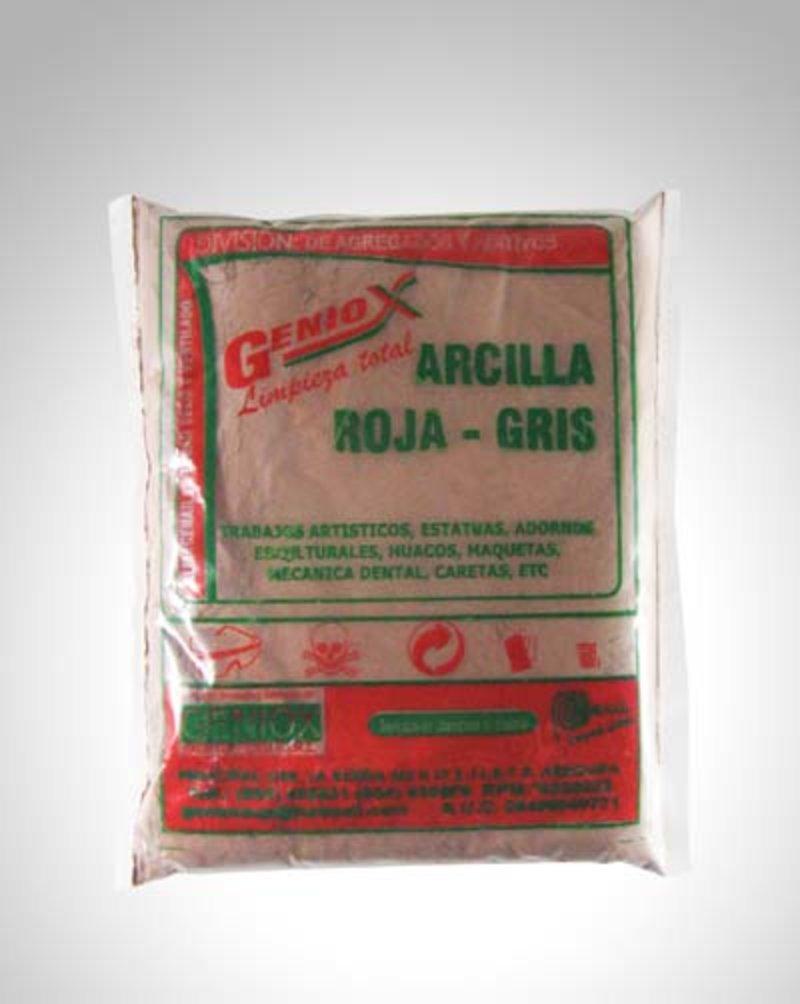 Arcilla Roja Gris GENIOX    GENIOX PERÚ