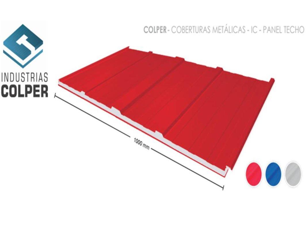 cobertura metalica de aluzinc IC-4 | INDUSTRIAS COLPER S.A.C.