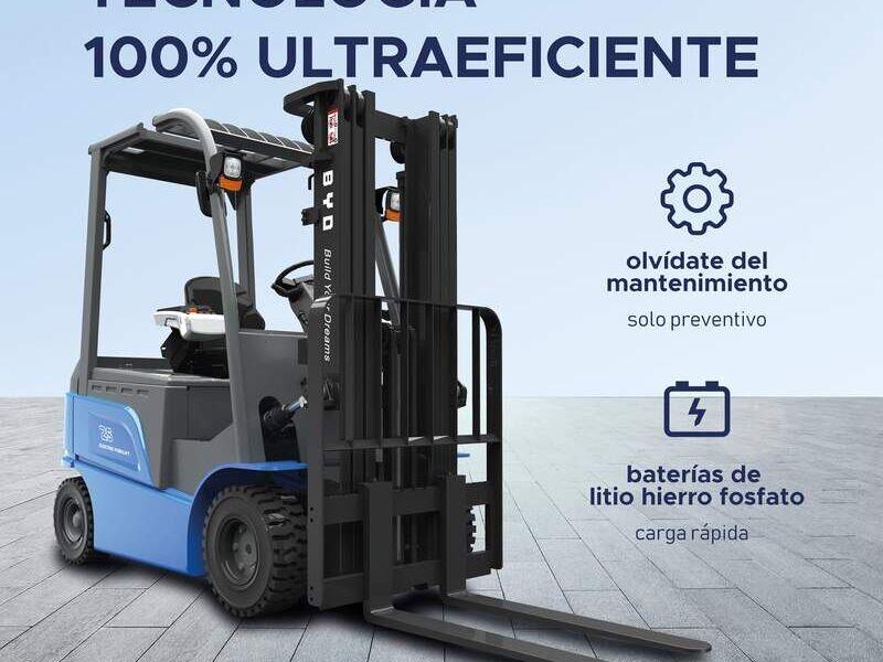 Montacargas 1.8 toneladas  - Montacargas Peru SAC | CONSTRUEX
