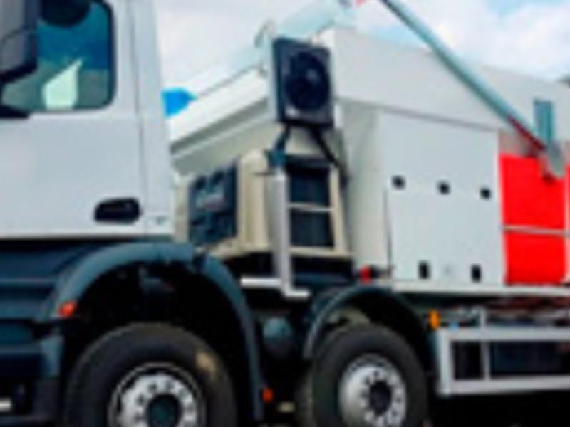 Hormigonera de 60m^3 - Gordon Ingenieros&Maquinaria SA | CONSTRUEX