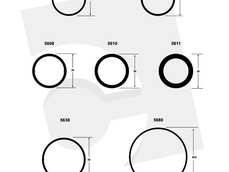 Perfiles de Aluminio Circulares