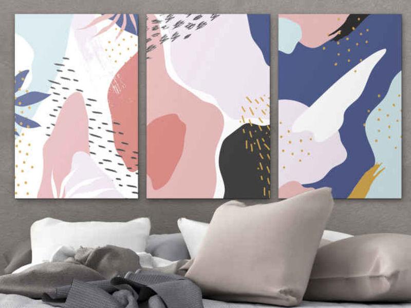 Pintura moderna arte abstracto