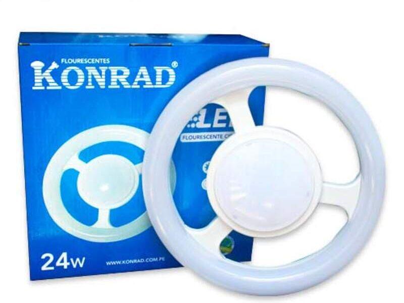 Fluorescente Circular LED (KONRAD)