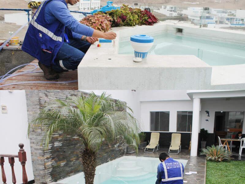 CONSTRUCCIÓN DE PISCINAS HOTELES