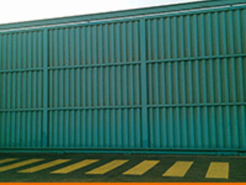 Puerta Corrediza Industrial
