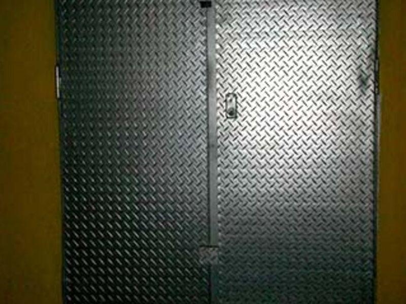 Puerta enrollable galvanizada