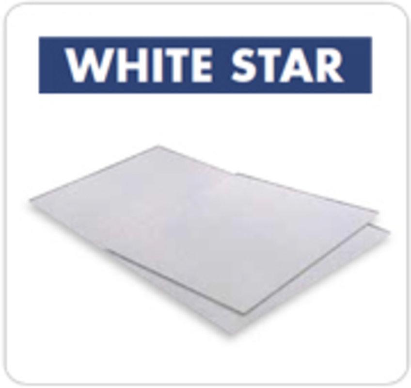 BALDOSAS DE FIBROCEMENTO WHITE STAR    MAVEGSA